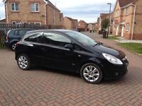 BLACK VAUXHALL CORSA DESIGN 1.2, MOT MAY 2017, PART LEATHER, AUX, EXCELLENT CONDITION, HPI CLEAR