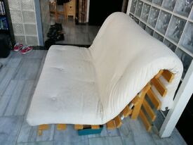 Wooden Futon company sofa bed