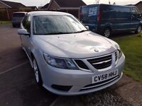 2008 (58) SAAB 9-3 VECTOR SPORT 1.9 TID DIESEL AUTOMATIC ESTATE .F.S.H.& CAMBELT.