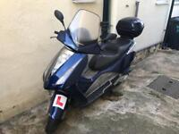 Honda Fes 125 Pantheon blue