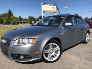 2008 Audi A4 2.0T AWD with Sunroof, Leather, Heated Seats, Pw...