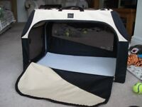 HUNTERS DOG TRAVELLING CAGE