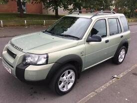 2004 04 Land rover Freelander 2.0 AUTO diesel td4 !!! PX !!! CARDS ACCEPTED****