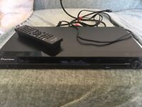 Pioneer universal all region DVD player With Remote control