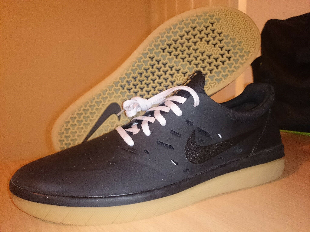 innovative design 0e37a c0975 BRAND NEW IN BOX Nike SB Nyjah Free - BlackGum AA4272 002 - UK10.5 RARE