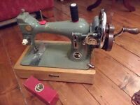 Vintage Consort Sewing Machine - Hand Operated and Serviced