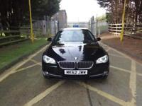 BMW 5 Series 520d SE (black) 2012