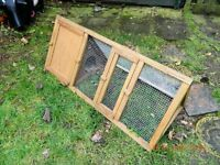 Rabbit / Guinea Pig / Chicken run with seperate sleep compartment