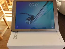 "Galaxy Tab S2 9.7"" gold, 32GB SM-T813 as good as new"