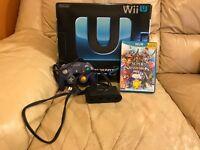 Nintendo Wii U Premium 32GB w/ Smash Bros, GC Controller & Adapter
