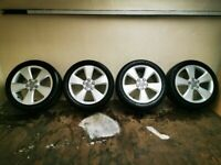 Genuine Audi Alloys Alloy Wheels 17 Inch 225/45/17
