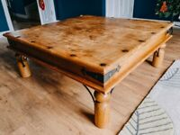 Large Meter square coffee table