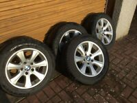Dunlop sp winter tyres set of 4 for E60 BMW 5 series