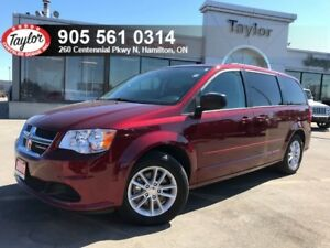 2017 Dodge Grand Caravan SXT Ultimate Family w/DVD, Backup Cam,