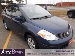 2011 Nissan Versa 1.6S ** CERT E-TESTED ACCIDENT FREE ** $6,999