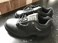 Dunlop steel toe cap shoes