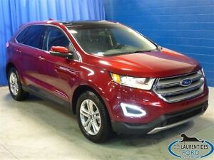 2016 Ford Edge SEL / AWD / 2L Ecoboost / Cuir / Toit Pano / GPS