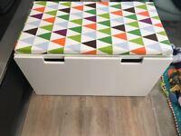 IKEA STUVA storage bench and bench pad