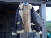 Flying jacket, genuine Baily's sheepskin men's £60