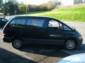 toyota lucida people carrier 8 seater
