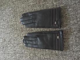 Designer Elle Leather Gloves