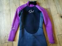 Girls Junior XL wetsuit.