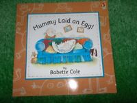 Teaching Young Children The Facts of Life Mummy Laid an Egg by Babette Cole