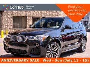 2016 BMW X3 xDrive35i|M Sport Pkg|Pano_Sunroof|Heat Frnt.Seats