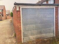 Single garage to rent in Southwick / Shoreham near A27