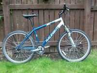 Hardtail adult mountain bike fully serviced excellent condition,many new parts/upgrades fitted