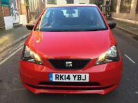 2014 14 SEAT MII 1.0 S A/C 3 DOOR 37K FSH YEARS MOT LOOKS AND DRIVES SUPERB GROUP 1 INSURANCE £20TAX