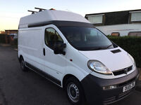 removal and courier man with a van. Competative prices. Nottingham based. will go all over the U.K