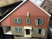 Vintage dolls house... First come first served. Bargain