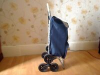 Shopping Trolley, Stair climbing, 6 wheeled, excellent condition.