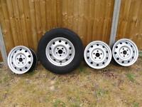 Land Rover Disco 2 steel wheels