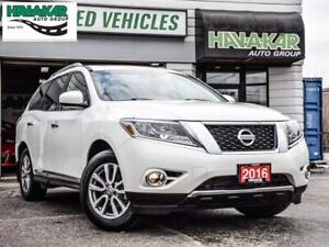 2016 Nissan Pathfinder SL   Accident Free low Kms.