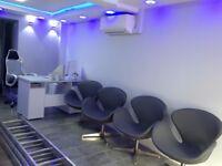 Brand new grey swan office swivel chairs