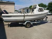 Orkney 19tf fastliner fishing boat