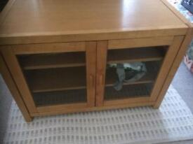TV cabinet - wooden 35 inches wide by 25 inches high and 19 inches deep