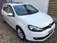 2011 VOLKSWAGEN GOLF 2.0 TDI MATCH + FULL SERVICE HISTORY + TOP SPECIFICATION + ELECTRIC SUN ROOF