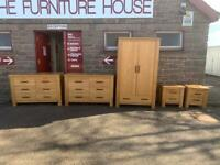 Gillies solid oak bedroom set * free furniture delivery *