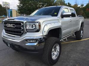 2016 GMC Sierra 1500 SLE CREW CAB WITH 9 INCH LIFT KIT!!!!