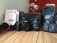 Nikon D3200 24.4 MP DSLR camera with 18-55mm kit lens