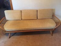 355 - Ercol daybed - colour Blonde