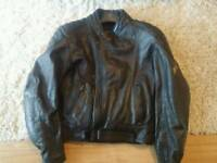 Frank Thomas motorcycle leather jacket