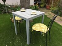 Patio/conservatory table and chairs