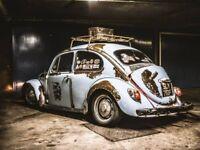 1967 Volkswagen Beetle Slammed Rat Bug - MOT and Tax exempt