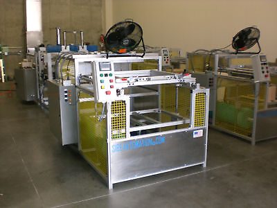 Vacuum Forming Machine 24 X 36 Top Bottom Infrared Heaters Plc Automatic New