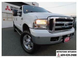 2006 Ford F-350 Lariat Super Duty; Local BC truck!