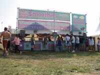 festival work/catering unit/kitchen/front of house/summer job